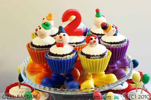 Palyaçolu Kapkek / Clown Cupcake