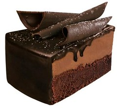 Chocolate Heaven Cake Slice
