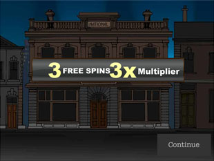 free Reel Crime 1 Bank Heist slot bonus feature