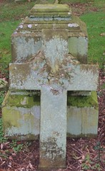 c1 (arlechinna) Tags: cemetery moss cross