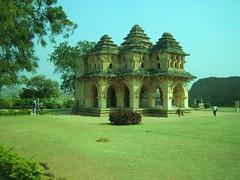 586. Hampi (4): Lotus Mahal (profmpc) Tags: history architecture war antique hampi indoislamic vijayangara krishnadevarayar
