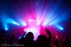 Down Through The Window of Light (Brian O'Mahony) Tags: party people music festival wales fun time clubbing wideangle noflash lasers electronica housemusic trance lightroom ravers dancemusic clubbers anglesey northwales sigma1020mm brianomahony canon40d thephotographiceye monashowground gregdowney islelife
