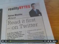 Best Sunday News Article