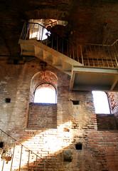 Dentro la Torre Guinigi a Lucca, Toscana