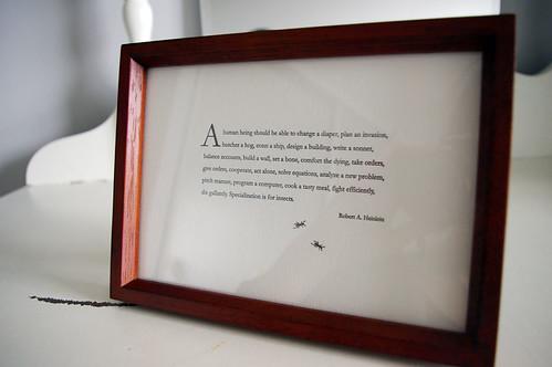 a simple frame