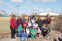 The Spanning Generations program hosted a field trip to the Four Rivers Cultural Center and Museum in Ontario.  The group posed for a photo outside the center: Back row from left, Rachel Snapp, Elise Adams, Kenton Dick, Truston Snapp, Alyssa Smartt, Tippy Cress, Martha Teeman, Isaiah Smartt, Ella Capps, Myra Peck and Eugene Donnellan. Front row from left: Eddie Barella, Daneen Richards, Destiny Teeman, Dreanne Teeman, Donna Teeman and Nalani Harvey. (Submitted photo)