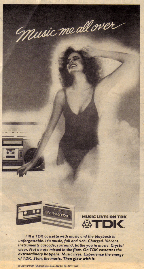 Vintage Ad #1,060: Music me all over
