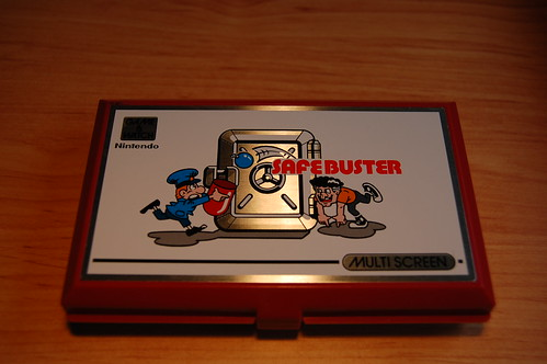 Safebuster - Game & watch