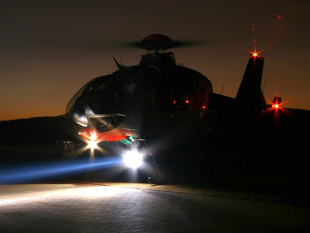 The World's Best Photos of night and policehelicopter