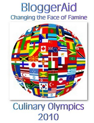 BloggerAid Culinary Olympics 2010