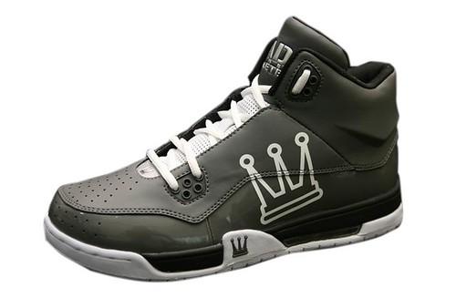 籃球鞋灰鐵小檔