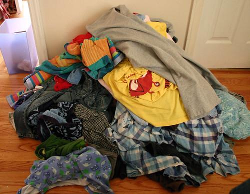 Gigundo laundry heap