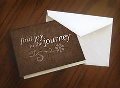 Find Joy In The Journey Notecards (brown flower) (Have Joy Designs) Tags: autumn brown flower fall typography design graphicdesign utah graphic joy card journey blank type mormon monson lds notecard havejoy findjoy