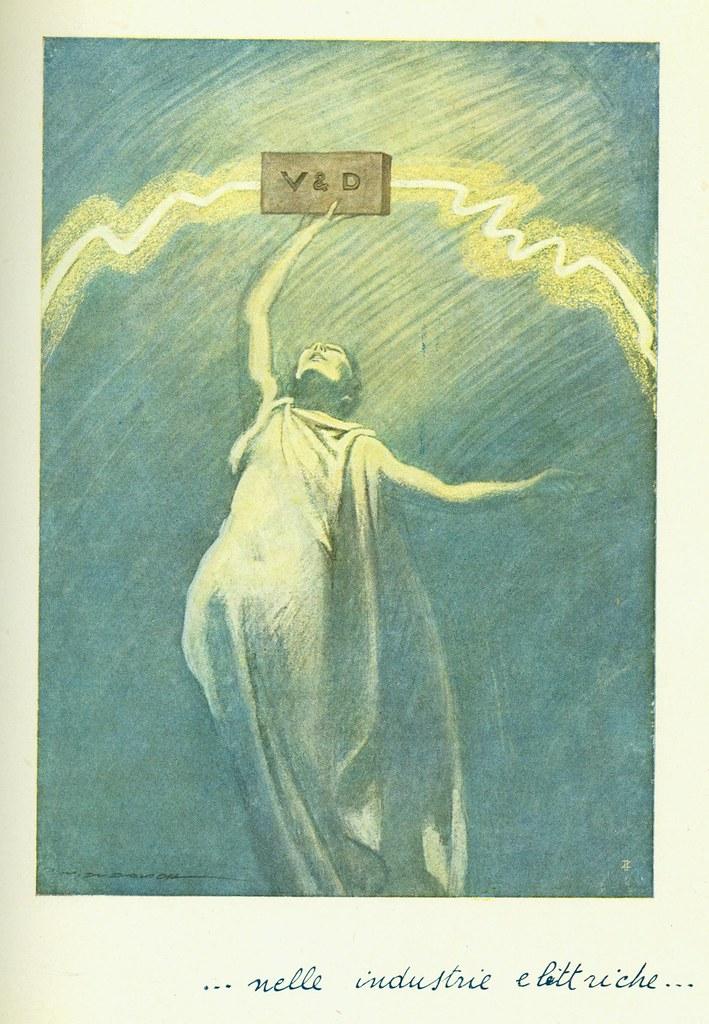 Illustration by Marcello Dudovich for Veni. VD. Vici.