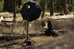 Setup Shot (jordanvoth.com) Tags: woods nikon shot ashley setup alienbee vr 47 strobe 70200mm d300 b800 ab800 octabox