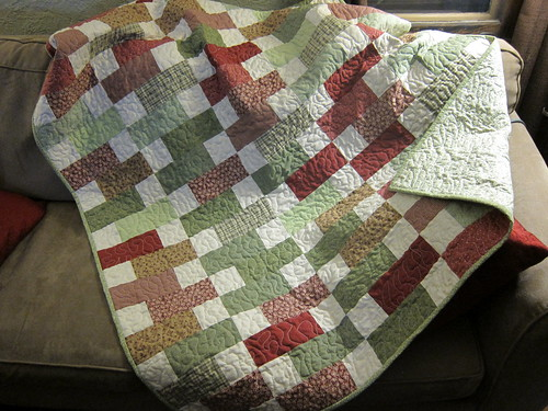 #61 - First Quilt...Finished!