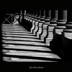 Basilica di San Paolo (gianmarco giudici) Tags: shadow italy roma lumix ombre colonnato basilicadispaolo lumixtz5 gianmarcogiudici