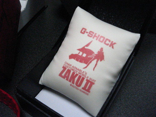 G-SHOCKのクッション