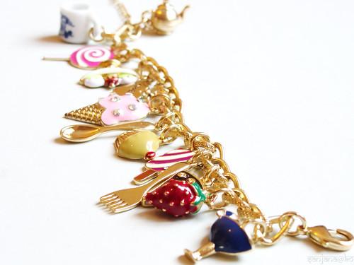 candy shop charm bracelet 9