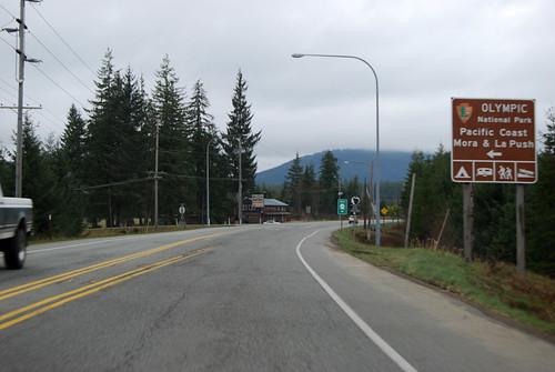 US 101 @ SR 110