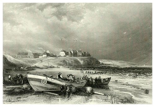 006- Cullercoats-The ports, harbours, watering-places, and picturesque scenery of Great Britain 1840