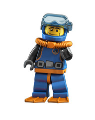 8683 Minifigures Diver