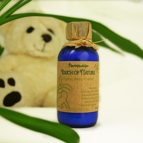 Organic Baby Powder Botanical soothing from Touch of Nature series