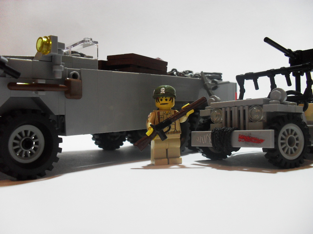 GMC DUKW Scale Comparison