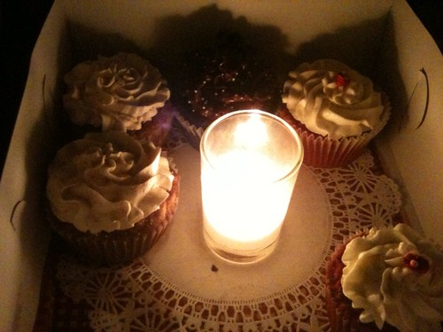 Candlelit Cupcakes