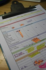 planning clipboard