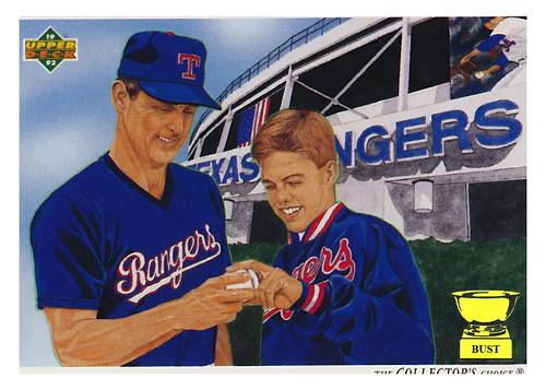 Baseball Card Bust Nolan Ryan 1992 Upper Deck Checklist