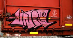 Uniq (mightyquinninwky) Tags: railroad graffiti character tag graf railway tags tagged railcar boxcar graff graphiti 36 freight cr dif trainart rollingstock paintedtrain spraypaintart uniq reflectivetape townesvanzandt movingart taggedtrain railroadart dixieironfist virginiazeke paintedrailcar taggedrailcar 11223344556677 carfireonflickr charactersformyspacestation