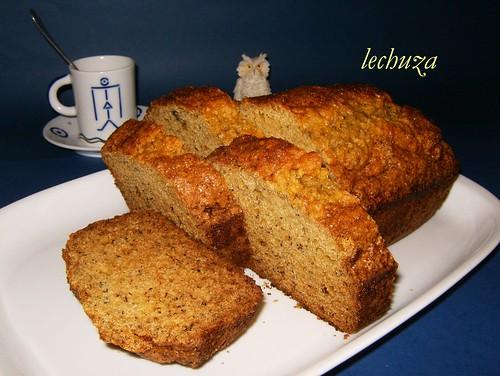 Cake de platano-porciones