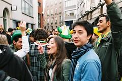 """She is not normally like this"" St Patricks Day Dublin 2010 (Anthony Cronin) Tags: ireland dublin green film st analog 35mm samba patrick ishootfilm chicas celtic stpatrick ac apug shamrock stpatricksday sexywomen 2010 konicaautoreflextc streetparty brazilia honeys saintpatricksday paddysday march17 march17th kissmeimirish dubliners dublinstreet dublinstreets allrightsreserved dublinlife streetsofdublin irishphotography patricksdayparade lifeindublin filmisnotdeaditjustsmellsfunny irishstreetphotography hexanonlens streethoneys dublinstreetphotography streetphotographydublin anthonycronin 031710 livingindublin insidedublin livinginireland streetphotographyireland streetsamba 17032010 170310 03172010 brazilianinireland expiredfujicolor200 fujicolor200superia photangoirl"