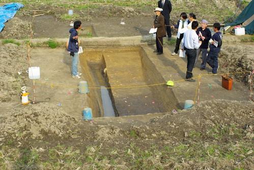 造山古墳発掘調査 #2
