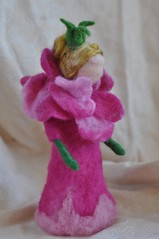 Rose-girl-Needle felted soft sculpture - Waldorf Inspired (daria.lvovsky) Tags: holidays waldorf valentine fantasy etsy artdoll fairies fiberart homedecor nickelodeon softsculpture needlefelted childfriendly naturalkids dollsandminiatures ooakother