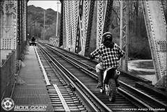 To live or not to (BCOL CCCP) Tags: bridge people electric train river death crash rail railway quad columbia bcer jordan southern hydro motorcycle british tri idiots cccp sry bch vedder tresspassing blackwhitephotos bcol