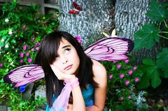 """Kristine """"Fairy"""" (Carmen V Photography) Tags: fairy fairies artisticphotography artphoto availablelighting outdoorphotography carmenvphotographycom fairyinayard"""
