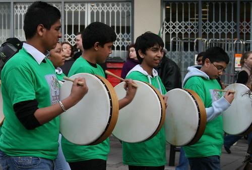'Irish' drummers