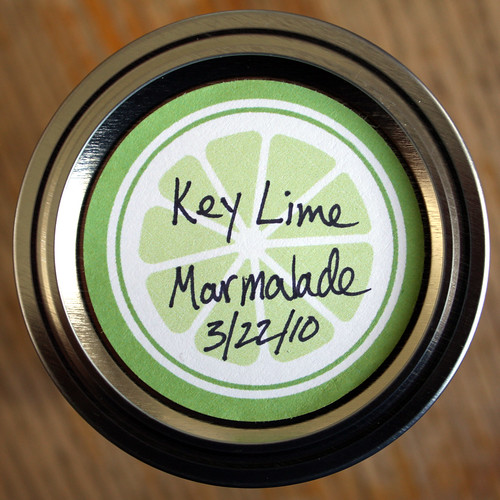 Marmalade Labels