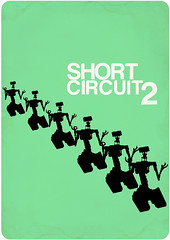 short circuit 2 (madfishes) Tags: poster 80s sequel redesign shortcircuit2