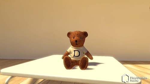 PlayStation Home Tester TeddyBear
