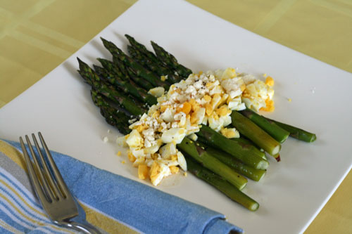 Roasted Asparagus Salad Recipe