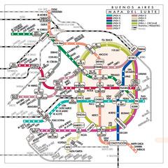 Red del subte de Buenos Aires como en Tokyo (gac6479) Tags: de tokyo metro buenos aires
