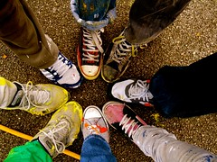 Virginia Primary School /  Let's Colour London (Let's Colour) Tags: uk school england color colour london feet playground painting children virginia shoes paint play lets painted pot painter colourful primary painters dulux akzonobel paintpot eurorscg virginiaprimaryschool valentine euro letscolor letscolour dulux rscg