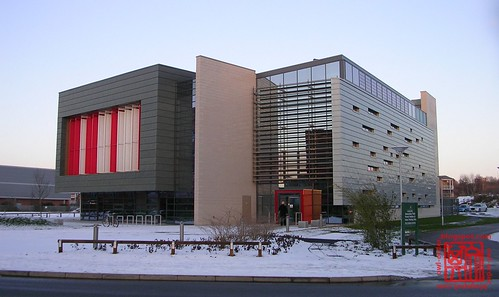 Nottingham Geospatial Building, Winter