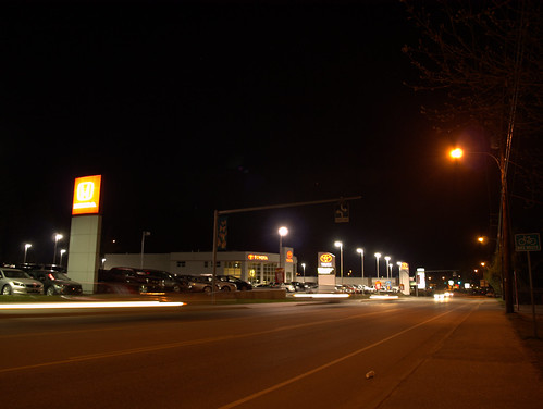 Earth Hour Fail - Castlegar Toyota