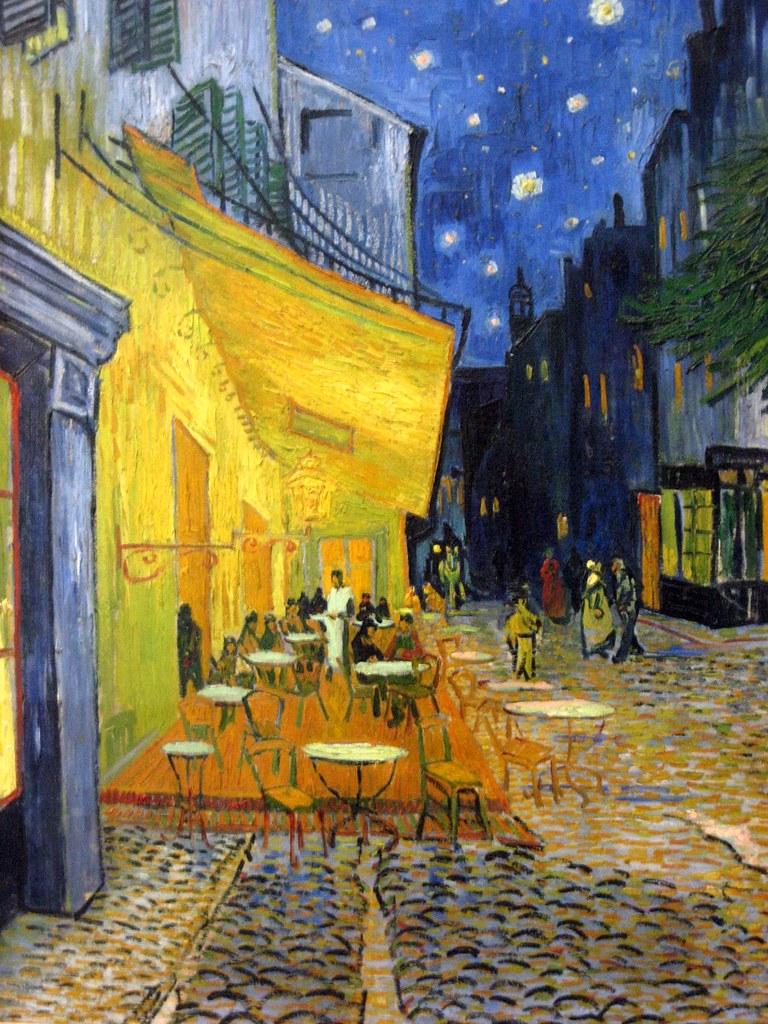 星空下的咖啡館