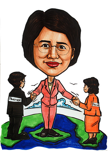 Caricature for Ministry of Manpower - 20