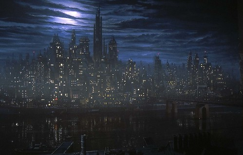 Establishing Shot of Gotham City. by Stefan the Cameraman